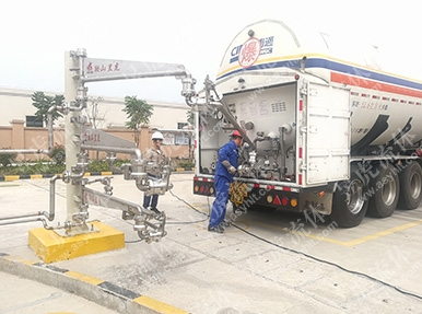 LNG增压卸车臂(三臂)